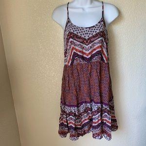 Mossimo Boho Colorful Dress